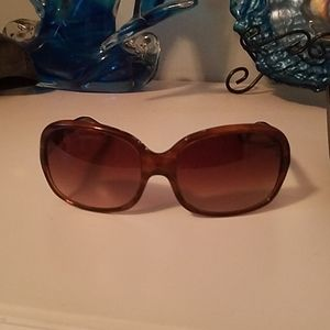 Ralph Lauren Brown gradient women's sunglasses